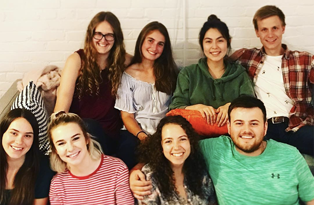 First class of International Fellows now living abroad for a full year in eight different countries